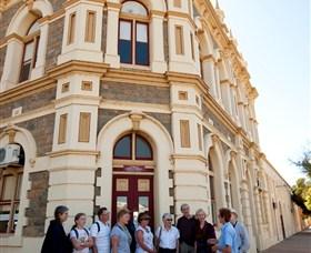 Broken Hill Volunteer Walk Tour Group Image