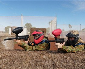 Katherine Paintball Image