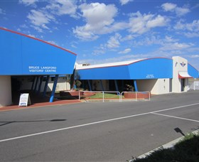 Royal Flying Doctor Service Bruce Langford Visitors Centre Broken Hill Image
