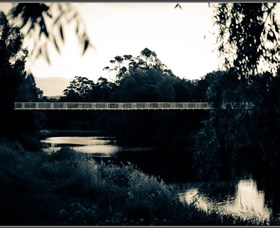 Mysterious Queanbeyan by Moonlight Image