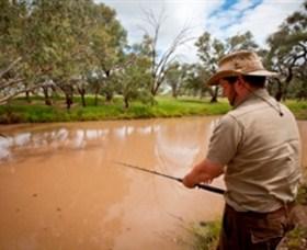 Charleville - 18 Mile Warrego River Fishing Image