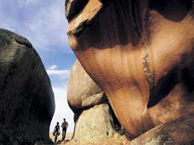 Murphy's Haystacks - Ancient Granite Rock Image
