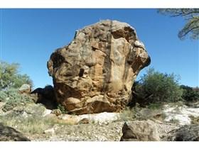 Death Rock and Kanyaka Waterhole Image