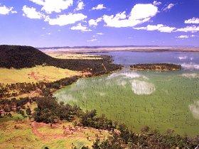 Nuga Nuga National Park and Lake Nuga Nuga Image