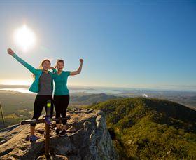 Mount Larcom Climb Image