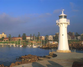 Historic Lighthouse Wollongong Image