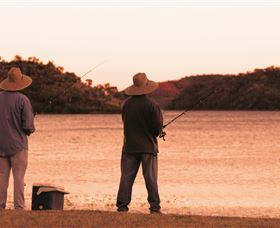 Fishing in Currawinya National Park Image