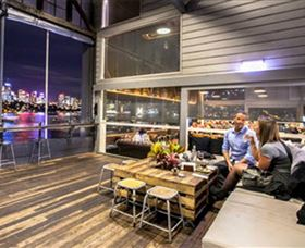 The Theatre Bar at the End of The Wharf Image