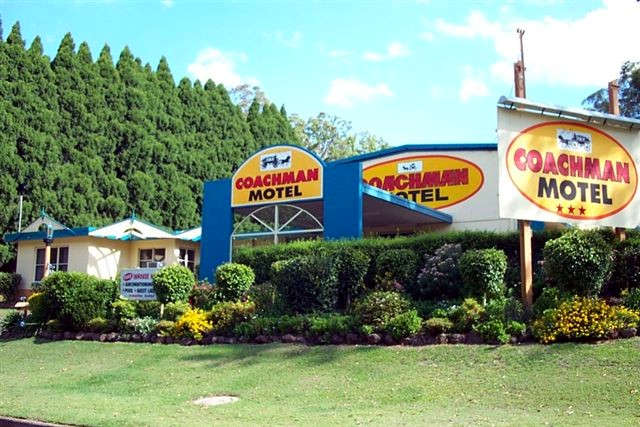 Coachman Motel Logo and Images