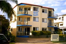 River Sands Holiday Apartments Logo and Images