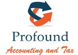Profound Accounting and Tax Logo and Images