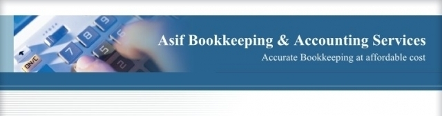 Asif Bookkeeping & Accounting Services Logo and Images
