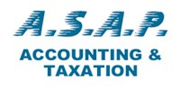 ASAP Accounting & Taxation Logo and Images