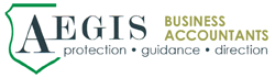 Aegis Business Accountants Logo and Images