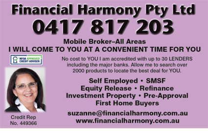 Financial Harmony Pty Ltd