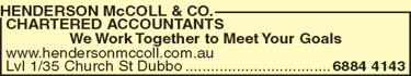Henderson McColl & Co. Chartered Accountants