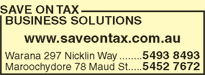 Save on Tax Business Solutions