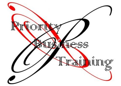 Priority Business Training Logo and Images