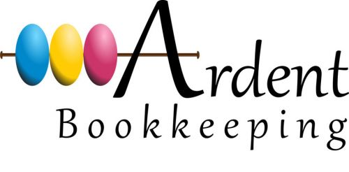 Ardent Bookkeeping Logo and Images