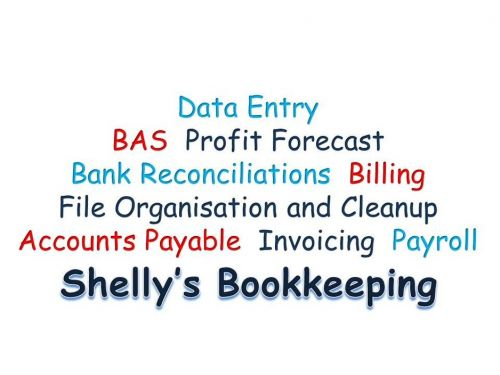 Shellys Bookkeeping Logo and Images