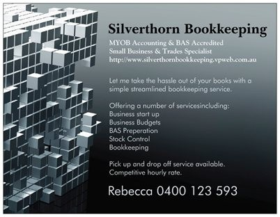 Silverthorn Bookkeeping Logo and Images