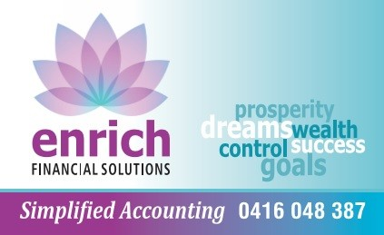 Enrich Financial Solutions Logo and Images