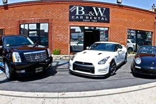 Black and White Car Rental