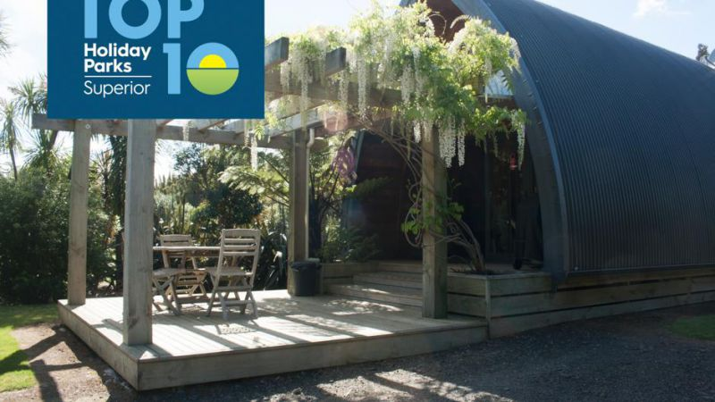 Hot Water Beach TOP 10 Holiday Park