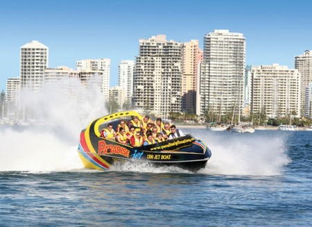 Paradise Jetboating Logo and Images