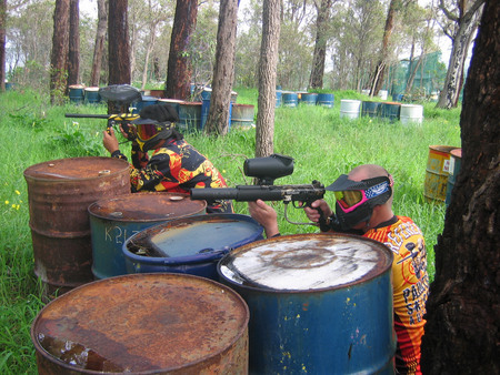 Paintball Skirmish Perth Logo and Images