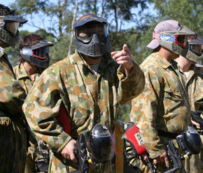 Action Paintball Games - Perth