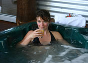 Hidden Valley Eco Spa Lodges & Day Spas Logo and Images