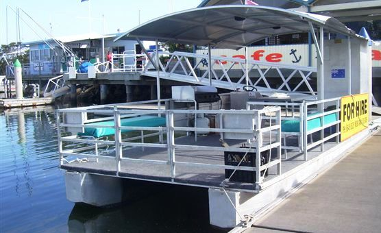Clarence River BBQ Boats Image