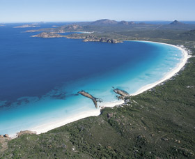 Lucky Bay Logo and Images