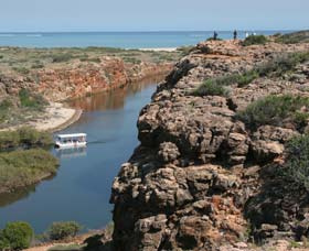 Yardie Creek, Cape Range National Park Logo and Images