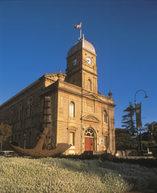 The Albany Town Hall Logo and Images