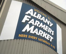 Albany Farmers Market Logo and Images