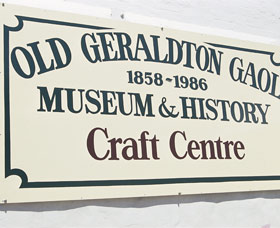 Old Geraldton Gaol Craft Centre Logo and Images