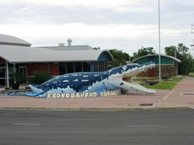 Kronosaurus Korner Logo and Images