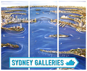 Sydney Galleries Logo and Images