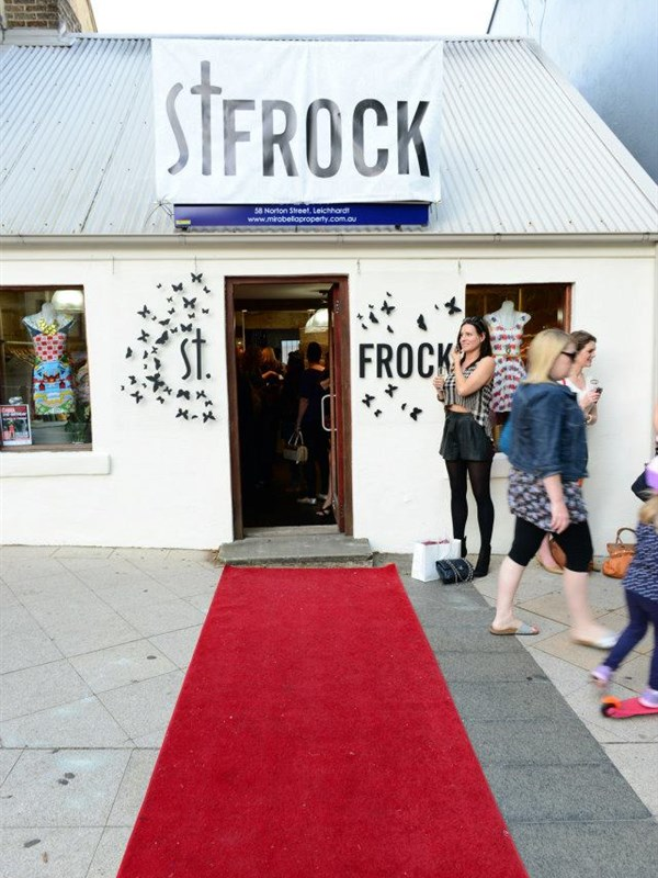 St Frock Logo and Images