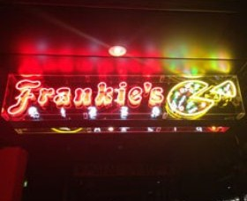 Frankie's Pizza Logo and Images