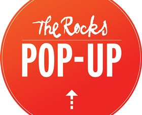 The Rocks Pop-Up Logo and Images