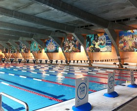 Cook and Phillip Aquatic and Fitness Centre Logo and Images