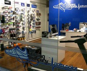 The Running Company Potts Point Logo and Images