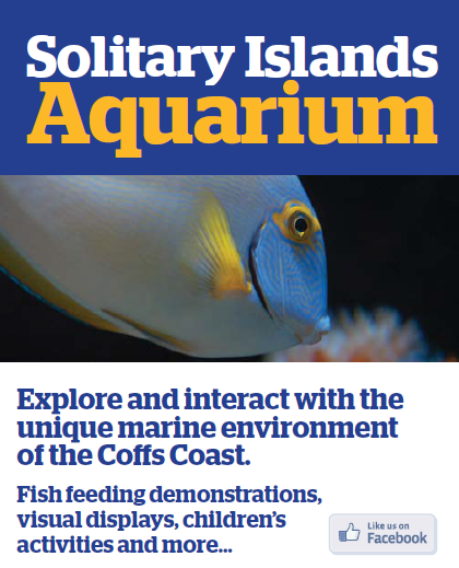 Solitary Islands Aquarium Logo and Images