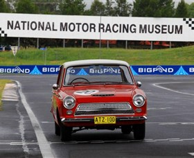 National Motor Racing Museum Logo and Images