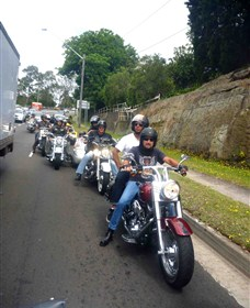 Hell Riders Motorcycle Tours Australia Logo and Images