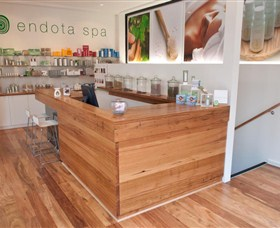 Endota Day Spa The Rocks Logo and Images