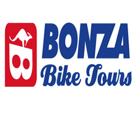 Bonza Bike Tours Logo and Images